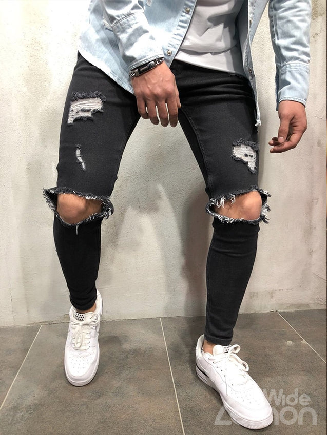 BLACK Friday: URBAN Black Ripped Skinny Jeans