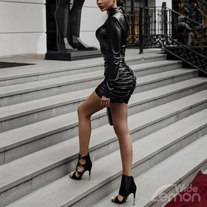 MAMBA PU Leather Dress