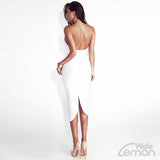 BLANC Backless Dress