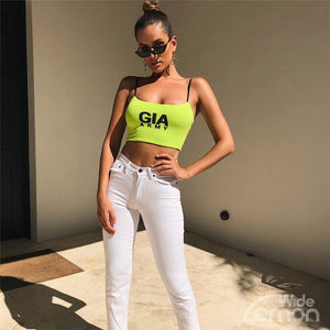 I.AM.GIA Sleeveless Crop Top