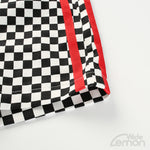 ALB Checkered Side Stripe Shorts