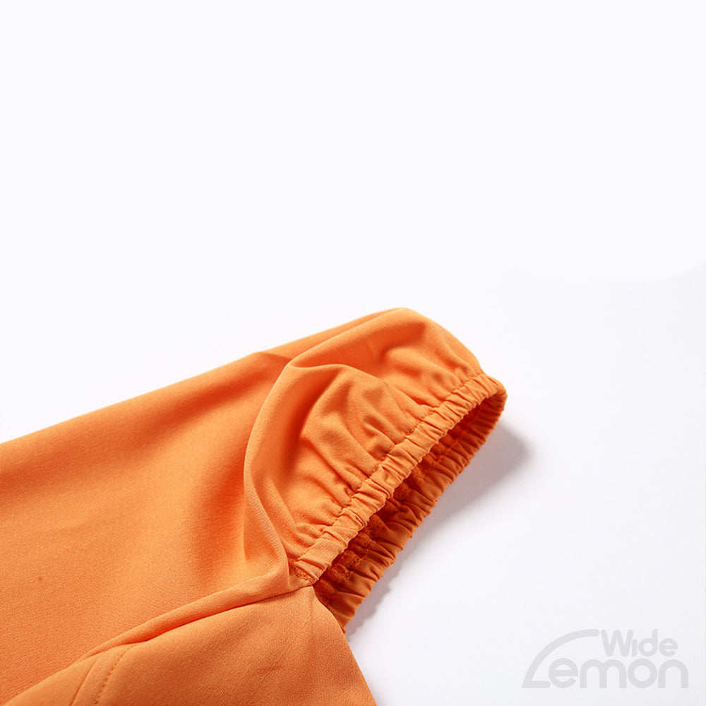 NEON Orange V-Neck T-Shirt