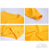 Yellow Casual Hooded