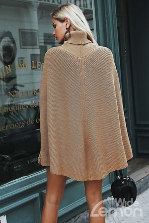 STREET Knitted Camel Sweater