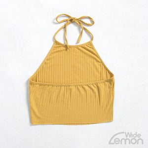 LEMON Short Crop Top