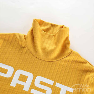 PAST Letters Yellow T-shirt
