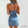 AZUL Sleeveless Denim Dress