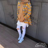 'LEMON' Checkered Shirt