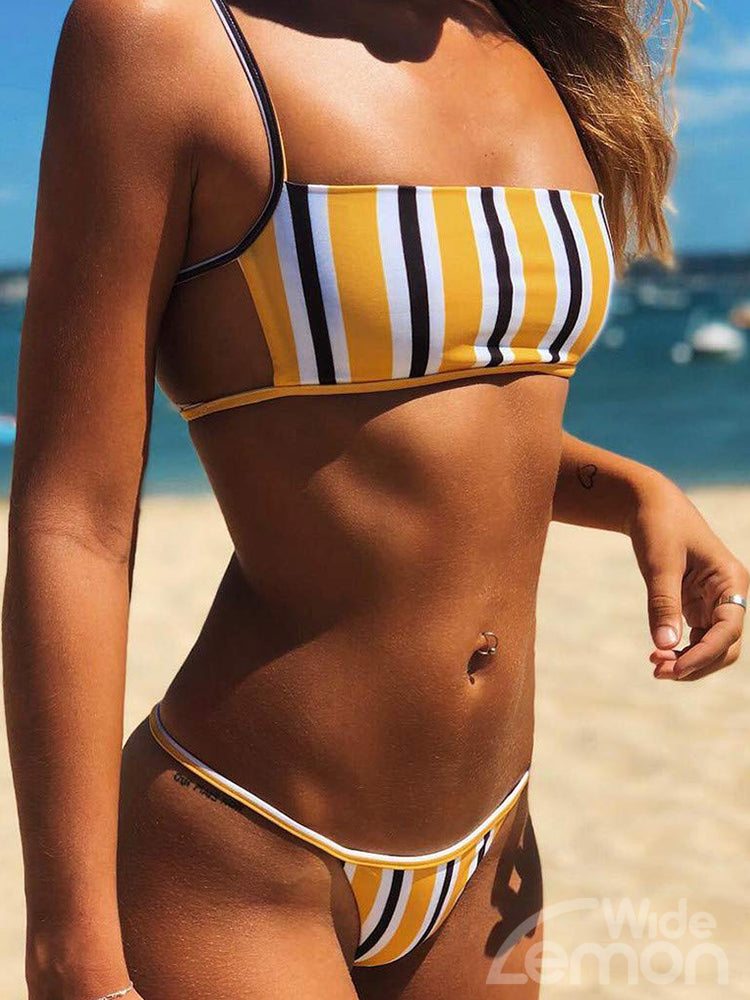 LEMON Bikini Two Piece Set