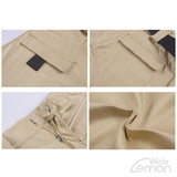 Khaki Shorts With Pockets