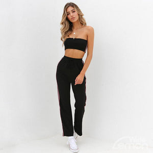 MAMBA Side Striped Two Piece Set