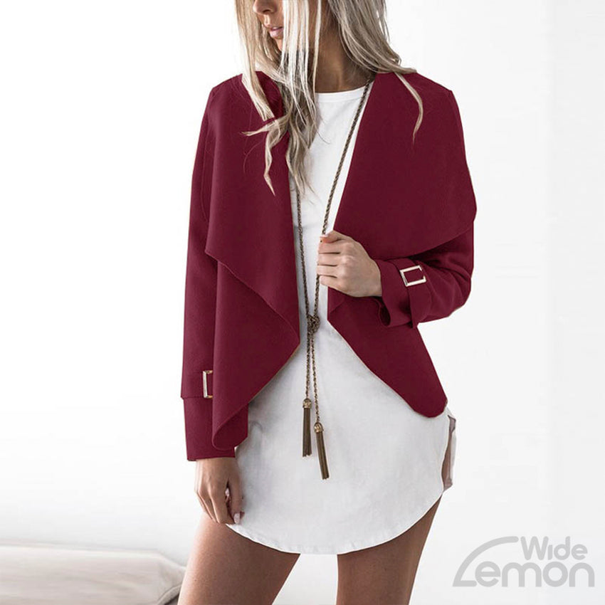Wine Red Blazer