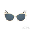Goldgrey Mirrored Cat Eye Sunglasses.