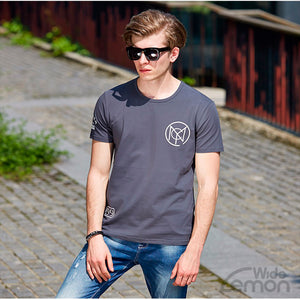 Short Sleeve Dark Grey T-Shirt