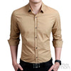 Khaki Long Sleeve Shirt