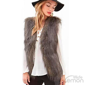 Sleeveless Vest Coat