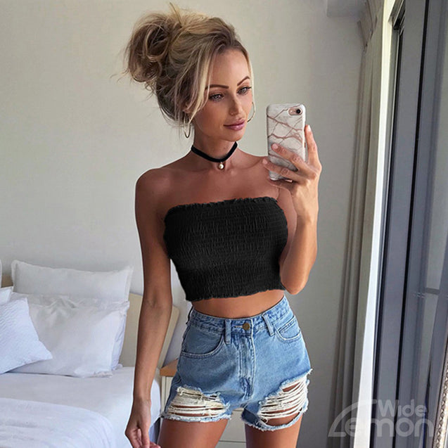 Black Elastic Top