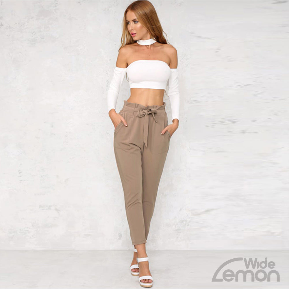 Formal Khaki Trousers