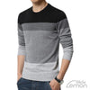 Black Colorul Long Sleeve Knitwear