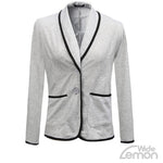 Formal Grey Blazer