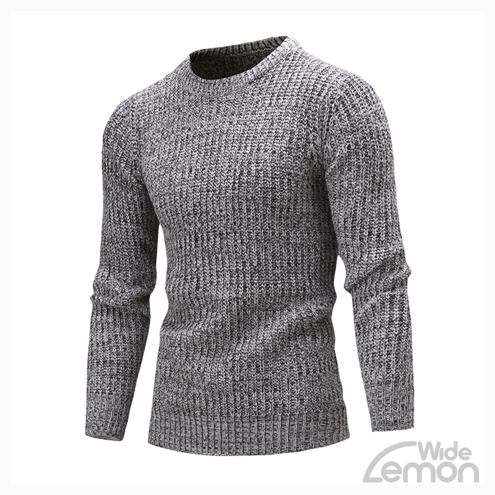 Gray Long Sleeve Knitwear