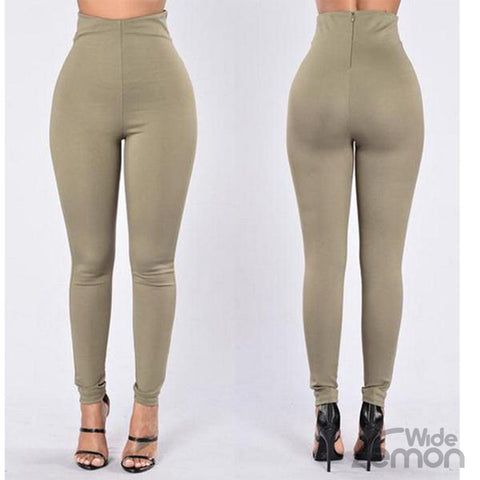Basic Green Leggings