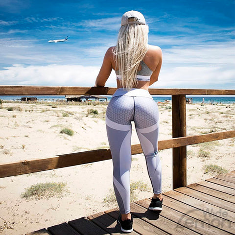 Grey Push Up Leggings