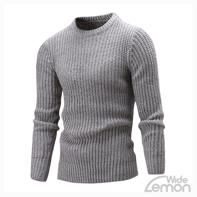 Light Gray Long Sleeve Knitwear