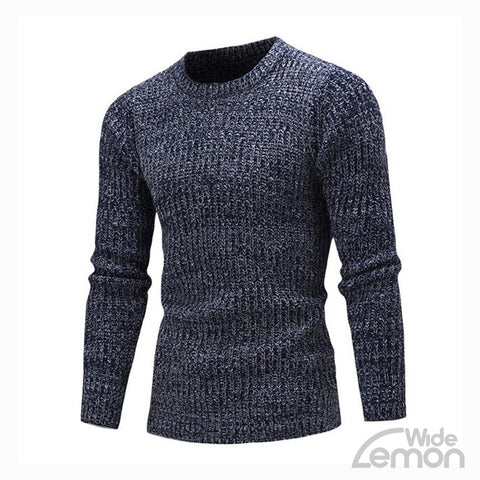 Blue Long Sleeve Knitwear