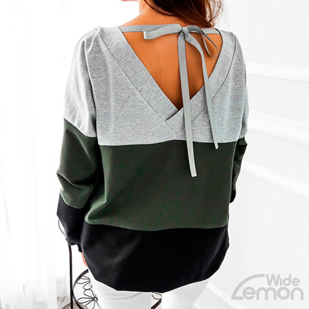 Green Lines Sweatshirt