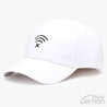 White Wifi Logo Baseball Cap
