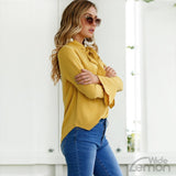 Yellow Elegant Shirt