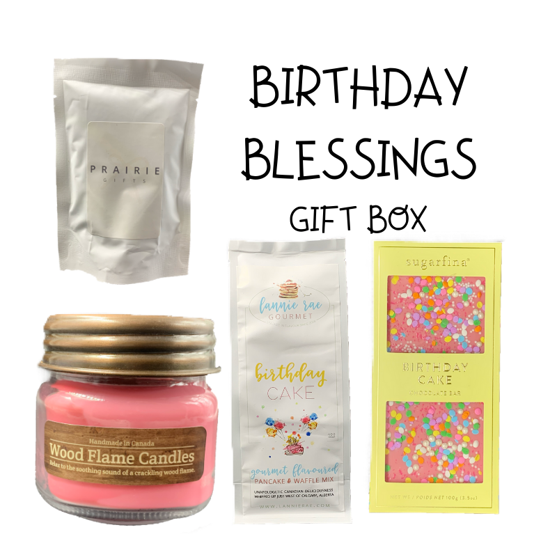 Birthday Blessings Gift Box - Gifts From The Prairies
