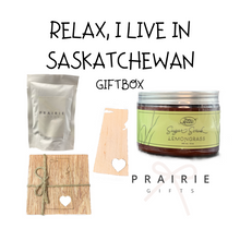 Relax, I Live In Saskatchewan Gift Box - Gifts From The Prairies