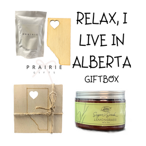 Relax, I Live In Alberta Gift Box - Gifts From The Prairies