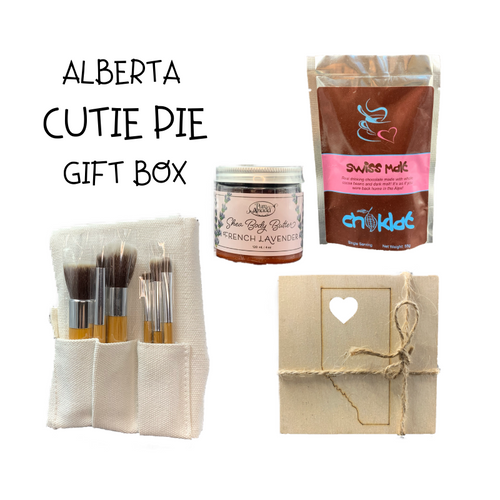 Alberta Cutie Pie Gift Box - Gifts From The Prairies