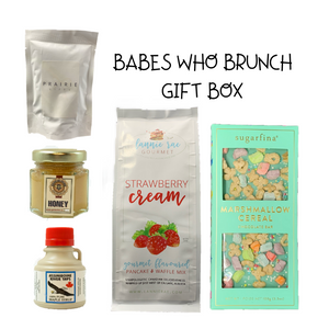 Babes Who Brunch Gift Box - Gifts From The Prairies