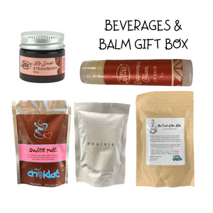 Beverages & Balm Gift Box - Gifts From The Prairies