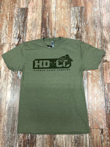 "Hammer Down ""HDCO Trout"" Short Sleeve Tee Green Adult Unisex"