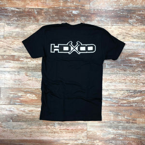 "Hammer Down ""Truck HDCO Logo"" Short Sleeve Tee Black Adult Unisex"