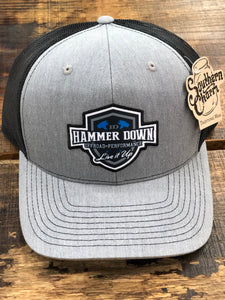 "Hammer Down ""Off Road Performance Live It Up"" Trucker Hat Blk"