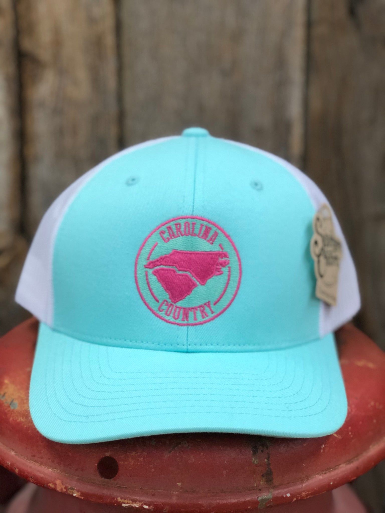 "Southern Charm ""Carolina Country"" 112 Trucker Hat Mint/White Adult"