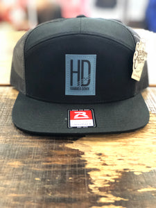 "Hammer Down ""Basic HD Logo"" 168 Trucker Hat BLK"