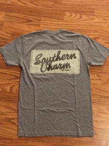 "Southern Charm 'SC NEW ROPE""  Short Sleeve Tee Adult Unisex"