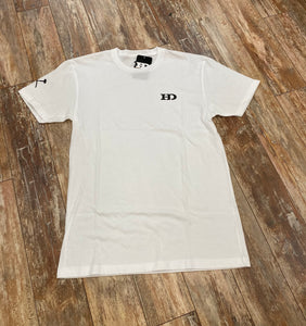 "*Hammer Down ""HAMMER DOWN BASIC TEE"" Short Sleeve Tee White"