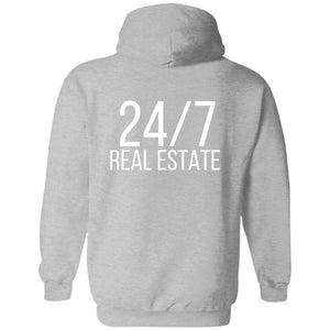 24 / 7 REAL ESTATE Pullover Sweatshirt