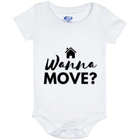 Wanna Move Baby Onesie 6 Month