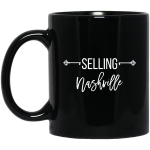 Selling Your City Customizable 2 11 oz. Black Mug