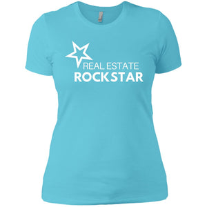 Real Estate Rockstar Ladies' Boyfriend T-Shirt