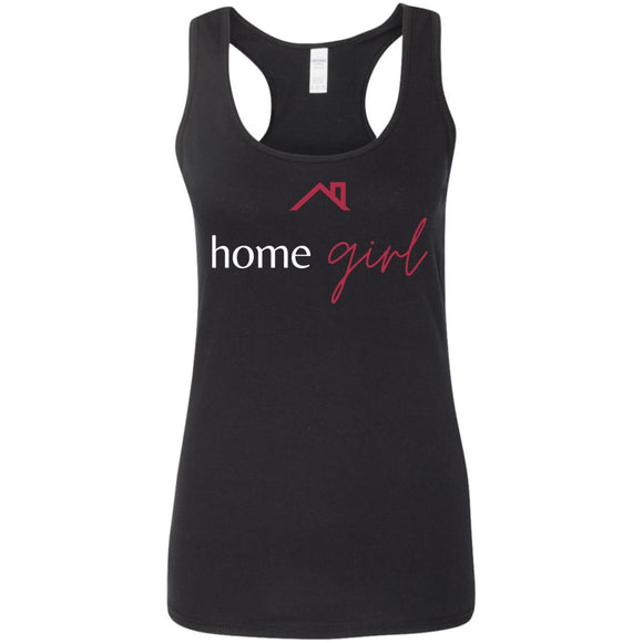 3 G645RL Ladies' Softstyle Racerback Tank